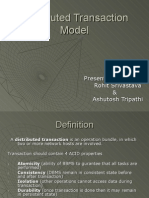 Distributed Transaction Model