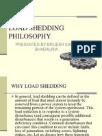 Load Shedding Philosophy Ppt