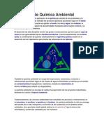 Definición de Química Ambiental