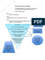 research topic triangle wkst