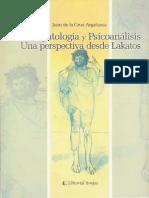 Argañaraz, J. - Psicopatologia Y Psicoanalisis Una Perspectiva Desde Lakatos - Ed. Brujas