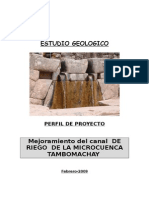 Informe Geologgico Tambomachay