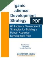 Organic Audience Development Strategy