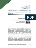 El reclamo tributario características esenciales de un recurso de plena jurisdicción - Gonzalo Vergara - CETUC 10
