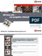 DB Netz AG - Program de Burse