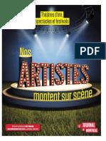 1889-0131 CAHIER Théâtres d'Été Et Spectacles-LR-NEW