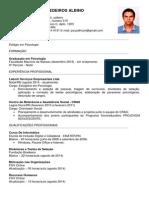 Curriculum - Pedro Atuan de Medeiros Albino