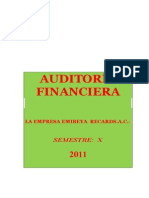 Caso de Auditoria Financiera