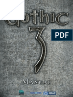 Manual Gothic 3