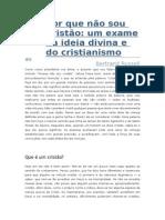 Por que não sou Cristão - Bertrand Russell.doc