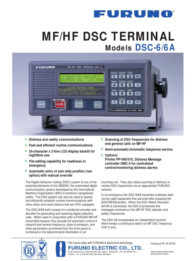 DSC6 6A Brochure | Broadcasting | Media Technology