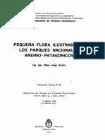 Pequeña Flora Ilustrada de Los Parques Nacionales Andino Patagonicos