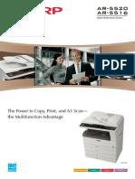 Sharp 5516,5520 Brochure