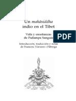 Padampa Sanguie, Un Mahasiddha Indio en El Tibet