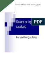 Turismo,Derecho - Vocabulario (1)