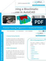 bioclimatic house training programme