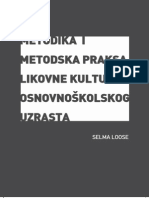 Metodika i Metodska Praksa Likovne Kulture Osnovnokolskog Uzrasta