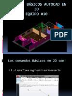 AutoCad Baiso 2D y 3D