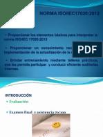 Memorias Curso Auditor Interno Norma17020-2012 Pereira