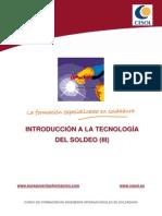 Unidad 03.- Introducci¢n a la Tecnolog¡a de Soldeo (III)