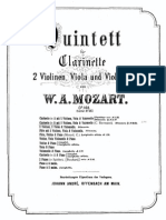 Mozart - Clarinet Quintet
