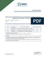 ERDF Barème de Raccordement ERDF-PRO-RAC 03E