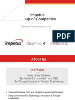 ImpetusGroupofCompanies 2012 IIT