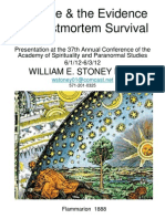 Science and the Evidence for Post Mortem Survival