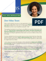 Susan Combs September 2014 Newsletter