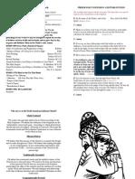 13 September 2014 - Bulletin