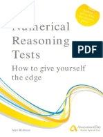 Numerical Reasoning Test Guide