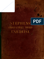 A New System of Broad and Small Sword Exercise - Thomas Stephens 1844