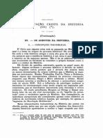A Interpretação Cristã Da História - Revista Usp - 1955