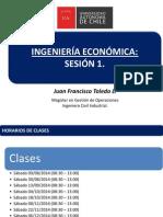 Sesion 1 Ingenieria Economica