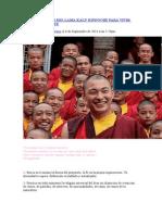 Los 10 Consejos Del Lama Kalu Rinpoche Para Vivir Dignamente