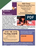 NCRA September 2014 Session