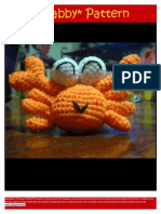 Crabby Crochet Pattern