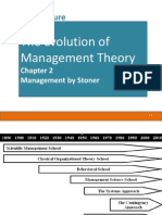 2. Evolution of Management Theories
