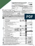 Heimlich Institute IRS 990s, 1989+1995 through the most recent (2018)
