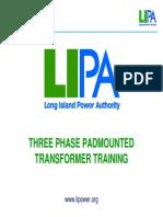 Pad Mounted Threephase Transformer