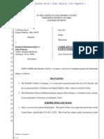 OurPet's v. Doskocil Mfg - Complaint