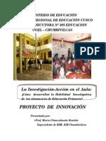 Mario Chancahuañe Proyecto de Innovacion