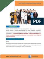 Brochure Tqiconsultores SAC
