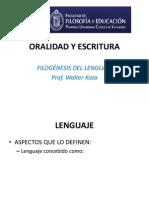 Filogenesis Del Lenguaje