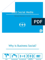 2020 Social Presentation - Because Business is Social