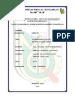 La Ordenanza Municipal y Los Instrumentos de Gestión - D. Municipal y Regional