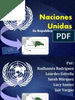 Naciones Unidas en RD