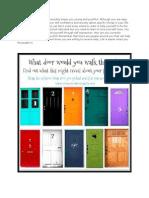 Test - The DOOR