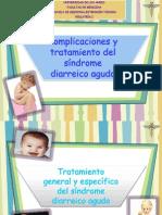 Pediatría - Tema 21, Tratamiento Del Sindrome Diarreico Agud