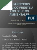 7.El Ministerio Publico Frente a Los Delitos Ambientales